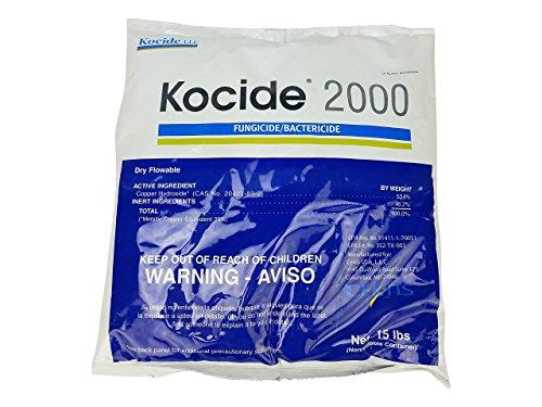- Certis Kocide 2000 Fungicide/Bacteriacide 15lb