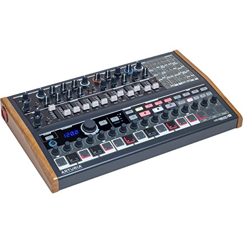 Arturia MiniBrute 2S Semi-Modular Analog Synthesizer/Sequencer with 48-Point Patchbayg