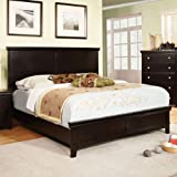 Dunhill Transitional Espresso Queen Size Bed