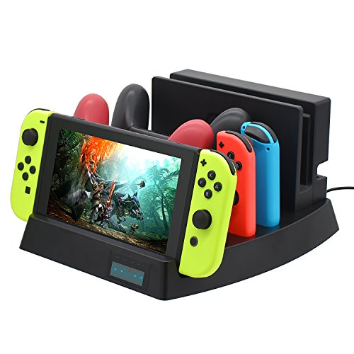 Charge Dock for Nintendo Switch, Charging Cable for Nintendo Switch (Multifunctional Charge Stand) For Sale