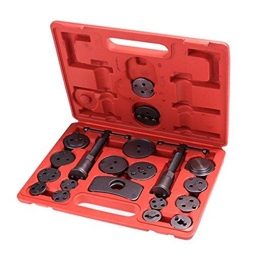 Kindsells 21 Piece Disc Brake Caliper Tool Kits, Universal Heavy Duty Piston Compressor Service Pad Wind Back Tool Set