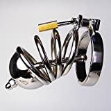 Lovepan New Male Chastity Device Men Bird Lock cage Stainless Steel Cock Cage 923