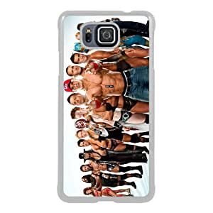 Wwe Superstars Collection Wwe 2k15 Superstars 01 White New Style Custom Samsung Galaxy Alpha Cover Case