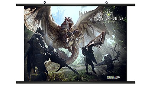CWS Media Group Monster Hunter World 01 Wall Scroll Poster