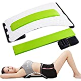 Carejoy Lumbar Back Stretching Device, Multilevel Acupressure Spine Correction Stretcher for Disc Herniation Prominent Traction, Back Stretcher, Back Pain Relief, Lumbar Massaging