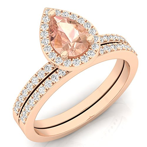 Diamond Halo Ring - 6