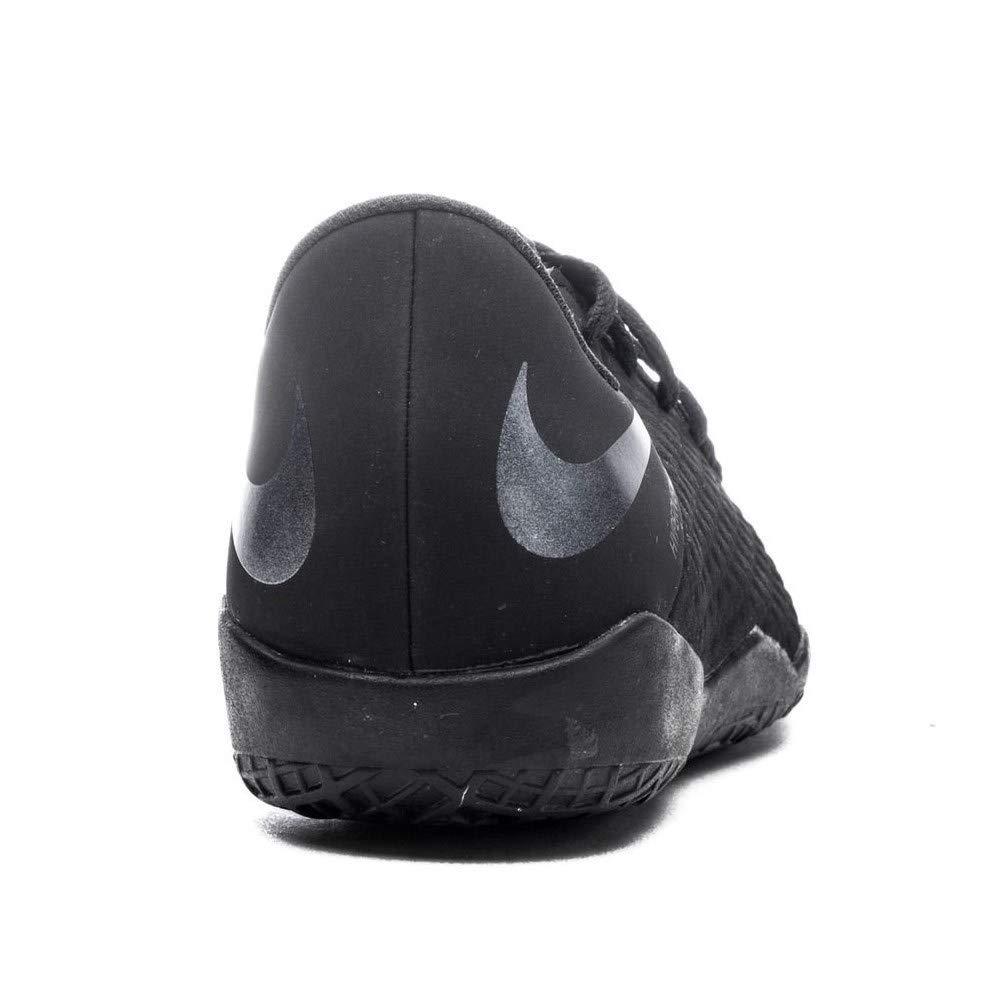AJ3798001 JR Hypervenom 3 Academy IC Size: 4.5 Nike Color: Black