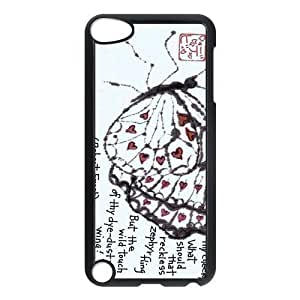 Special Designer Robert Frost Quote It Goes On Ipod Touch 5th Case, Snap on Protective Robert Frost Ipod 5 Case by icecream design