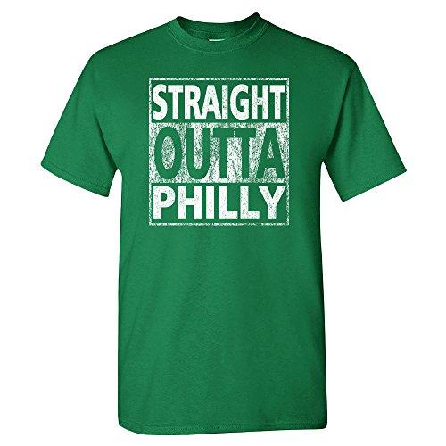Xtreme Philadelphia Straight Outta Philly Shirt (2XL, Kelly Green) ()