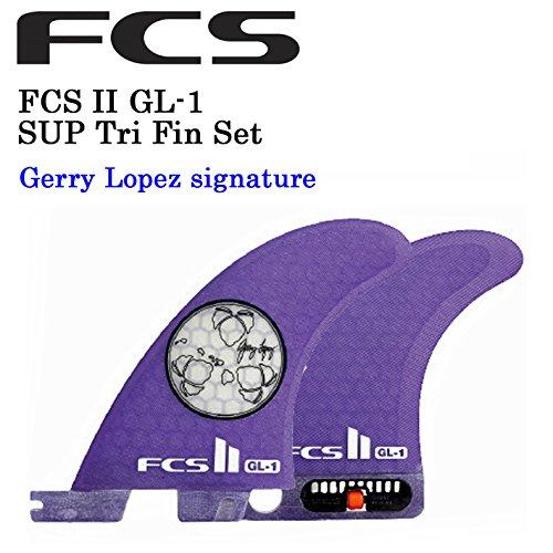 【FCS2 フィン】 FCS II-GL-1 2+1(TRIフィン)ジェリーロペスモデル SUP スタンドアップパドルフィン (PERFORMANCE CORE, XL)   B01COSWUXU