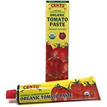 Cento Double Concentrated ORGANIC Tomato Paste - 2/ 4.56 oz tubes