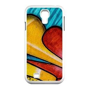 Samsung Galaxy S4 9500 Cell Phone Case White Graffitti OJ668633