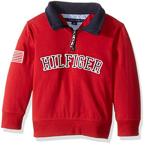 a3680435 Tommy Hilfiger Little Boys' Toddler Half Zip Sweater, Bulls Eye, 3T - Buy  Online in Oman. | Apparel Products in Oman - See Prices, Reviews and Free  Delivery ...