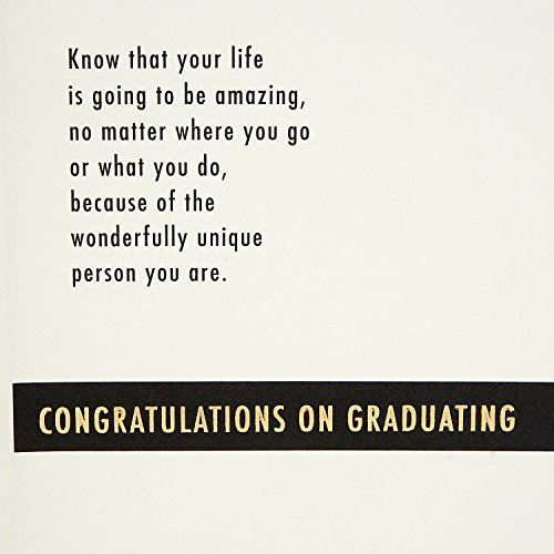 Hallmark High School Graduation Greeting Card (Your Life is Going to be Amazing) Photo #5