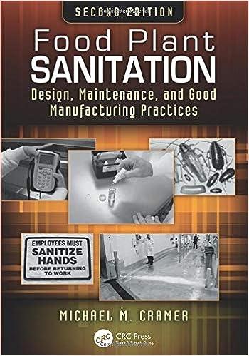 Food Plant Sanitation: Michael M  Cramer: 9781138198791