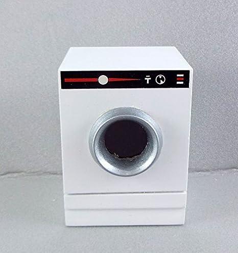 Maßstab 1:12 Puppenhaus Miniatur Möbel moderne Wäschetrockner Maschine