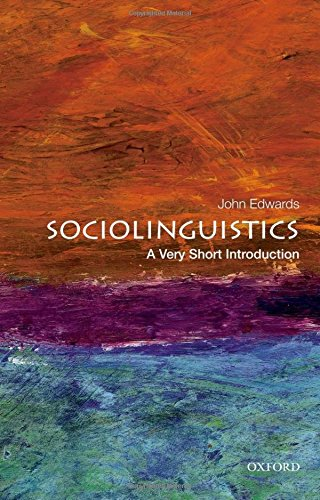Sociolinguistics: A Very Short Introduction (Very Short Introductions)
