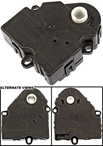 APDTY 715222 HVAC Air Door Actuator For Various 1995-14 GM Vehicles Including: Buick, Cadillac, Chevrolet, GMC, Isuzu, Oldsmobile, Pontiac (Check Fitment; Replaces 89018375 52402611 52402599 16164972)