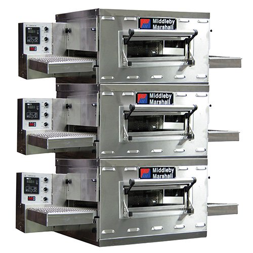 Middleby Marshall PS528G Countertop Conveyor Oven, Gas, Triple ()