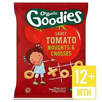 Organix extras Nadas y cruces para Salsas de tomate 15 g ...