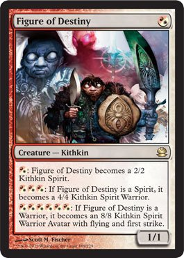 Magic: the Gathering - Figure of Destiny - Modern Masters (Rival Destinies Set 2 compare prices)