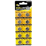 101pc Essential Batteries Kit CR2032 L1154 & Watch