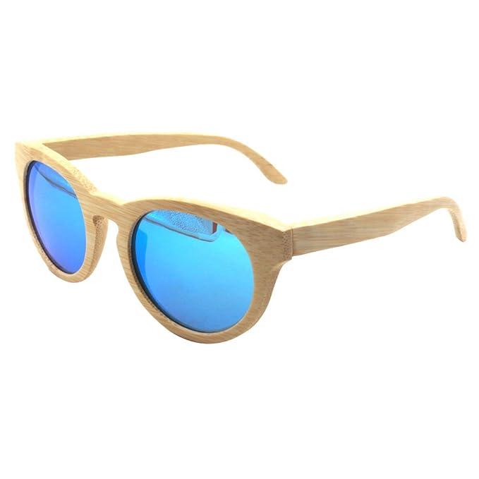 Gafas de sol de madera hechas a mano de bambú polarizadas