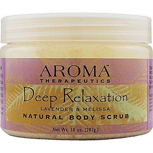 Aroma Therapeutics Deep Relaxation Natural Body Scrub - Lavender & - Bubble Abra Aroma Therapeutics Bath