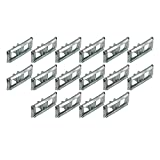 New 1963 Ford Fairlane 500, Ranch Wagon Side Body Molding Clips for Fender, Quarter Panel, Doors (EBC3OZ-59407A12ST)