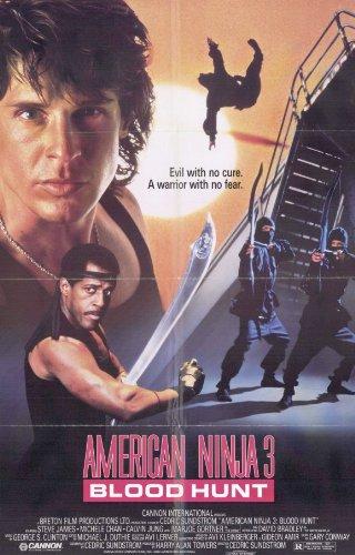 Amazon.com: American Ninja 3 Blood Hunt Poster Movie 11x17 ...