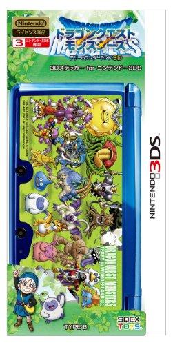 Dragon Quest Monsters: Terry's Wonderland 3D 3D Sticker for Nintendo 3DS TYPE B