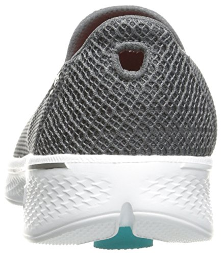 Skechers Damen Go Walk 4 Propel Trainers - Charcoal, Grau, 38