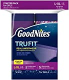 Health & Personal Care : Goodnites Tru-Fit Nighttime Protection Underwear- Girls Large/X-Large 7ct