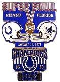 Super Bowl V Oversized Commemorative Pin