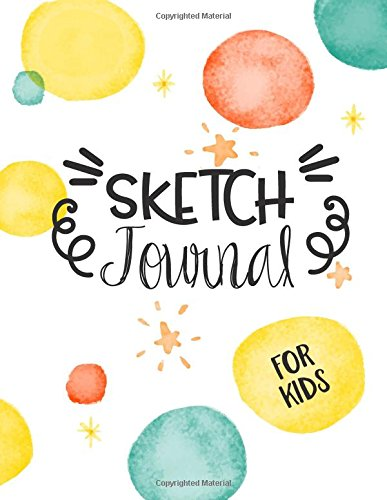 Sketch Journal For Kids: Graph Paper Notebook, 8.5 x 11, 120 Grid Lined Pages (1/4 Inch Squares)