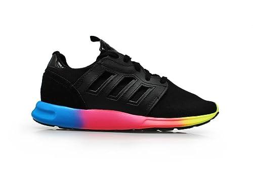 67166e0213a4 Adidas Womens - ZX 500 2.0 Rita - Black Rainbow - M19079 (UK 8 ...