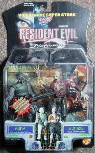 - Video Game Super Stars presents RESIDENT EVIL PLATINUM HUNK AND ZOMBIE