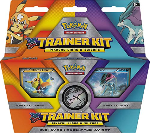- Pokemon TCG: XY Trainer Kit-Pikachu Libre and Suicune 2-Player Learn-to-Play Set (Discontinued by Manufacturer)