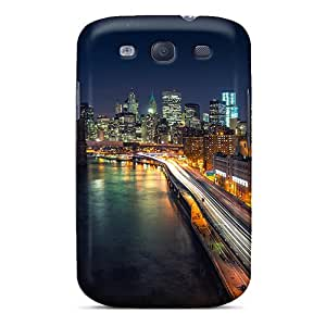 Sanp On Cases Covers Protector For Galaxy S3 (manhattan Nights)