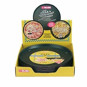 Ibili 356128 - Molde pizza antiadherente Venus 28 cm Aluminio