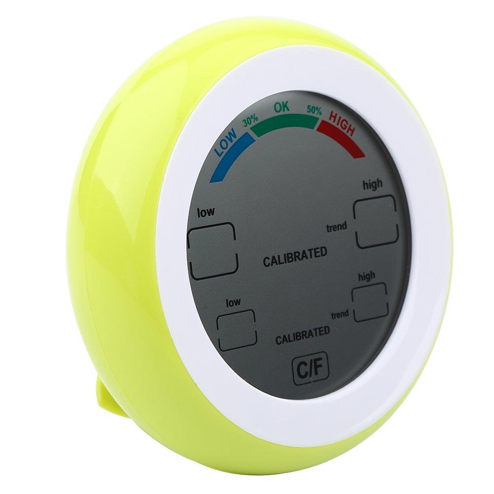 Blau ℉ das Temperatur u Feuchtigkeit Fdit Digital LCD Temperatur Thermometer Hygrometer drahtloses elektronisches Temperatur Feuchtigkeit Messger/ät Meter ℃