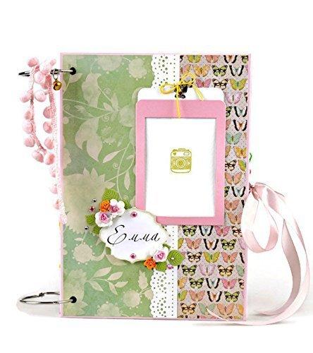 Amazoncom Kristabella Creations Baby Girl Memory Book