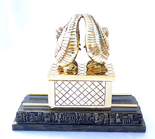 Statue Ark of the Covenant Israel with Tablets of Stone Inside the Box.medium -