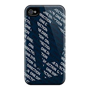 Bernardrmop Scratch-free Phone Case For Iphone 4/4s- Retail Packaging - One Direction