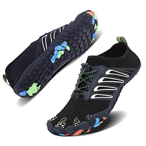 8206a2ea6 WXDZ Unisex Quick Drying Aqua Water Shoes Pool Beach Yoga Exercise Shoes  for Men Women