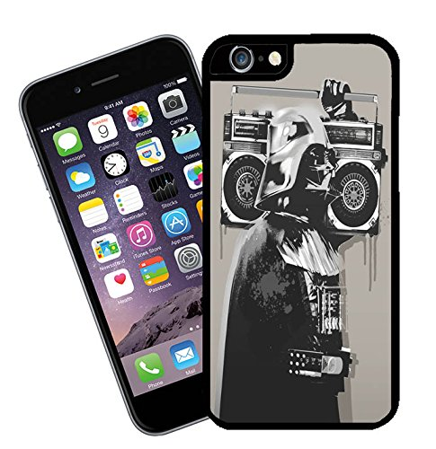 Banksy Darth Vader iPhone case - This cover will fit Apple model iPhone 7 (not 7 plus) - By Eclipse Gift Ideas