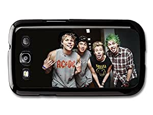 Wholesale diy case Accessories 5 Seconds Of Summer Funny Faces Boyband case for Samsung Galaxy S3