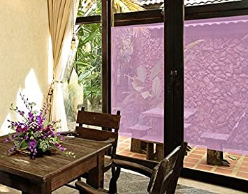 Window Sticker Favourite Color Square Film Tattoo Glass Art Dcor