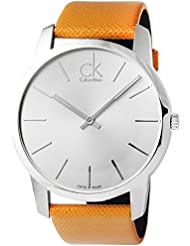 Calvin Klein Watches K2G21138 ORANGE SILVER