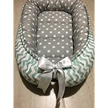 Baby Nest Bed Sleeper Newborn Crib Co Pod Double Sided Sleep Babynest Cotton Bedding Cocoon Cot Infant Toddler Snuggle Mattress Baby Nest Bed